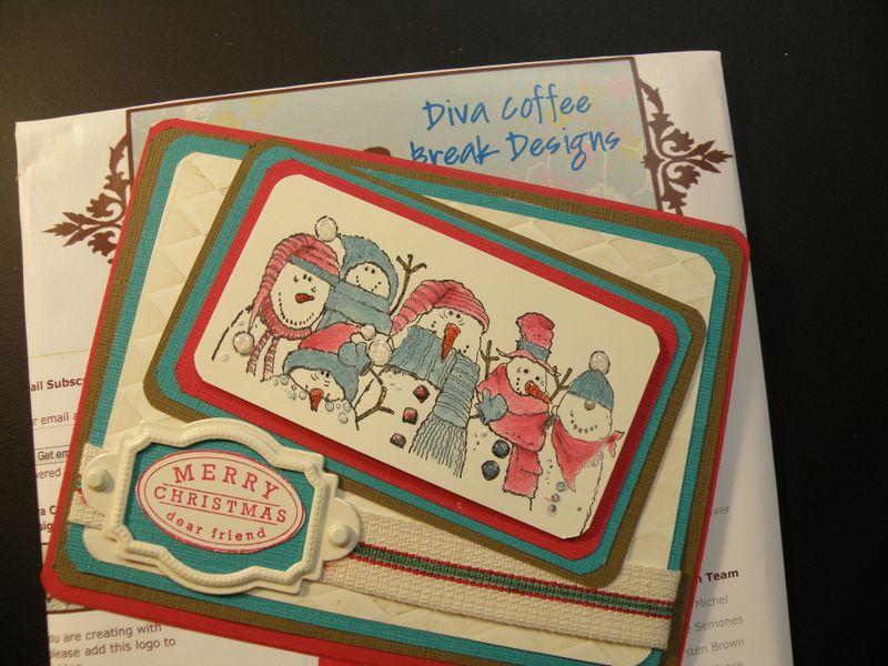Diva Coffee Break Design number 146