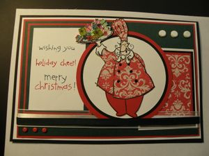 Christmas Voia Chef Card for Mojo Monday CA