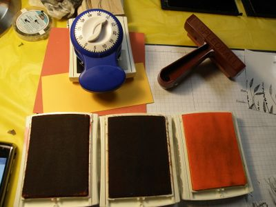Going to brayer on glossy