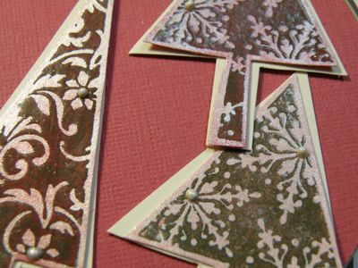 Easel Card - Stamping 411 and Krista'c colour challenge 023