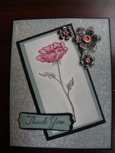 Liane's thank you card