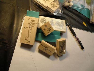 De stamps I chose
