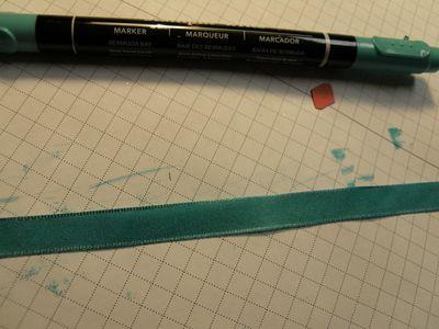 Ribbon colouring