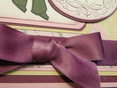 Upclose at the ribbon