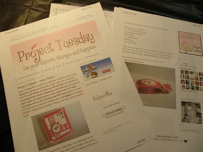 Project Tuesday a beginning
