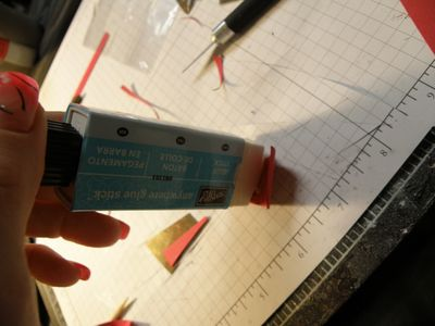 A stampin up glue stick