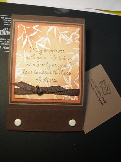 Whow I am done this matchbook gift card holder