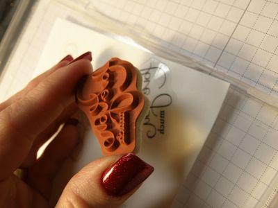 Tutorial - e apply rubber to sticker