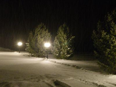 Snowing so pretty