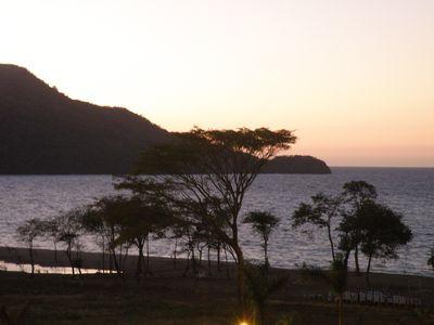 Ahw the sun set