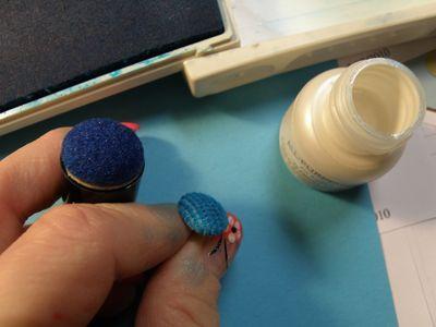 Coloured Button