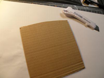 A cardboard
