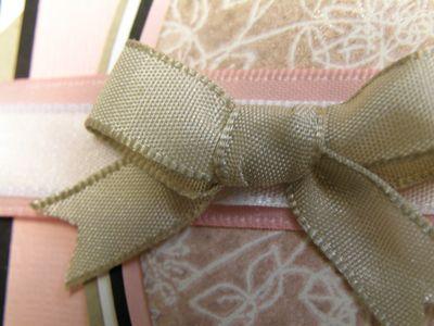 Kraft ribbon upclose