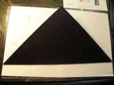 A triangle created