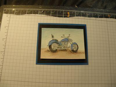 Motocycle card 001