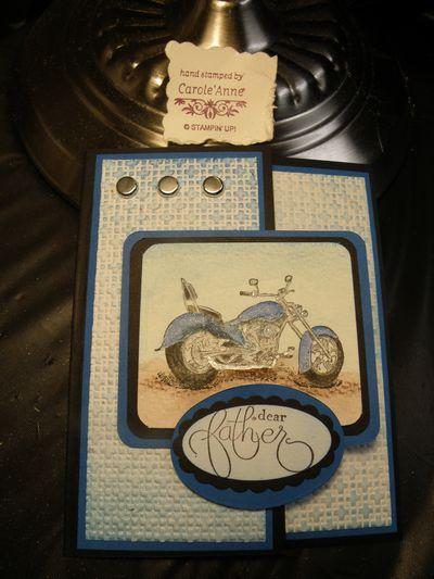 Motocycle card 029