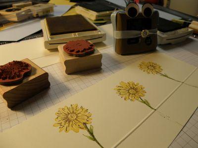 Beginning stamping