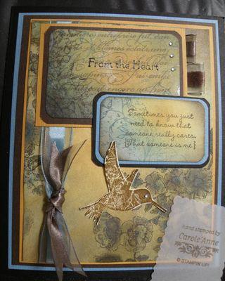 Carole'Anne's Collage Card