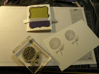 Doing some stampin