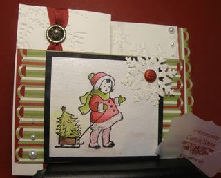 Watercolouring the greeting card kids 025