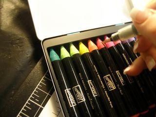 J- a crayon