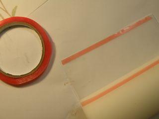 E c the sticky strip