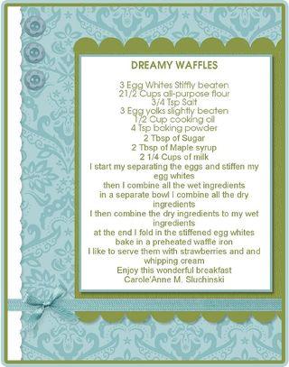 Dreamy waffles.fs