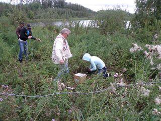 Going potatoe digging