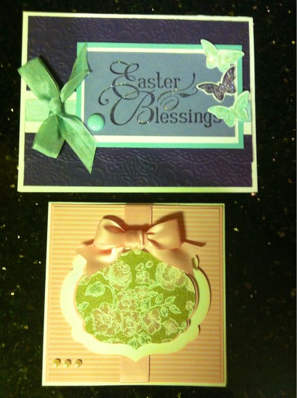 Mixed bag for you today along with two more Easter cards